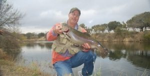 Big Trophy Rainbow Trout at Shonto Ranch